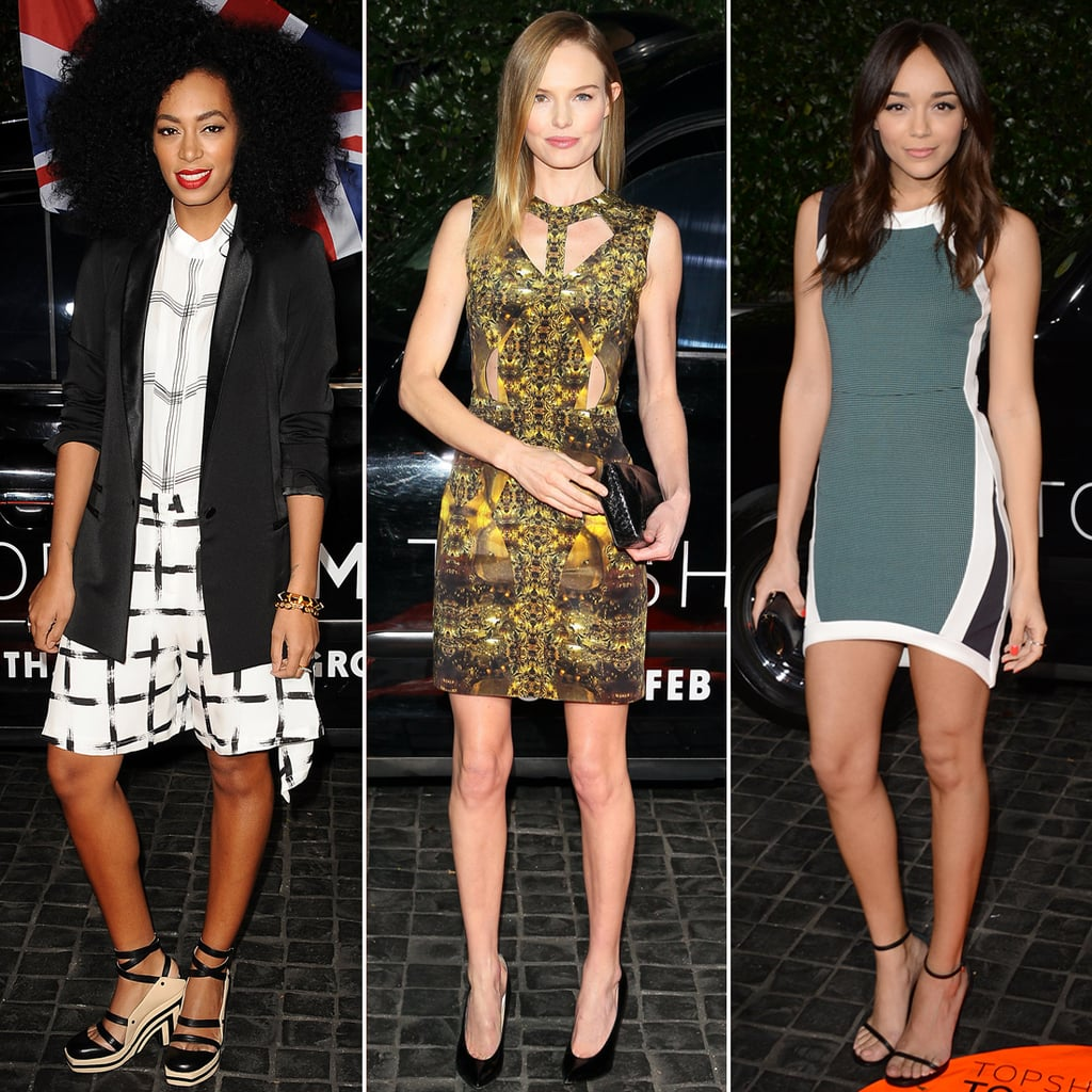 Topshop Draws One Serious Style Crowd to Its LA Opening
