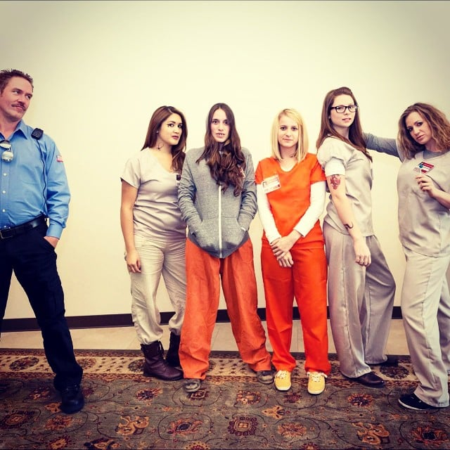 Diy halloween costume orange is the new black popsugar love sex solutioingenieria Image collections