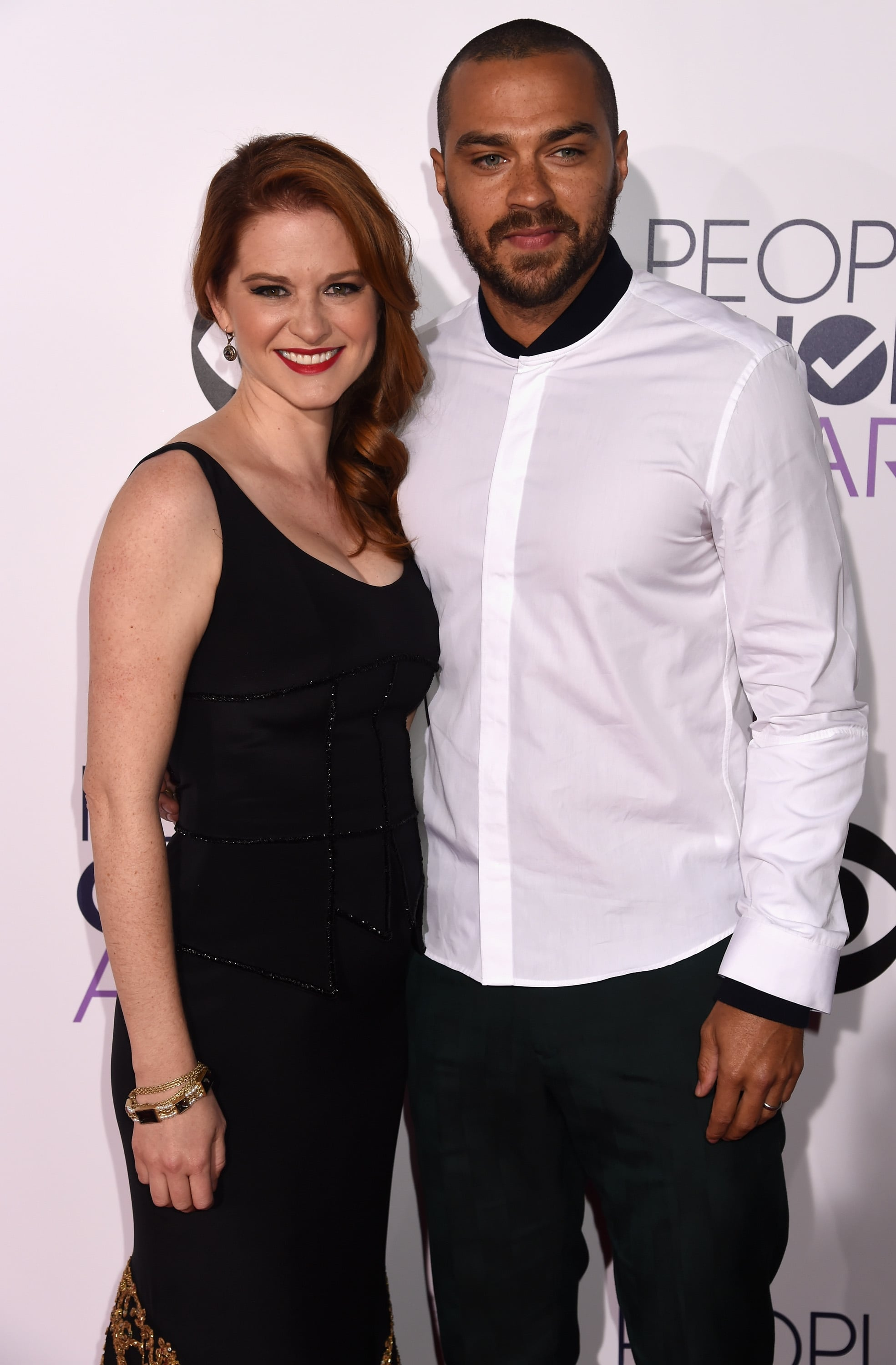 Sarah Drew and Jesse Williams | See All the Stars on the ... Jesse Williams And Sarah Drew