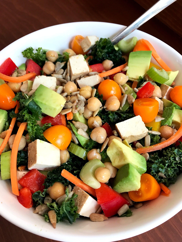 Salad Protein Weight Loss Tip Popsugar Fitness