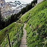 Be sure to save enough time to explore the surrounding Swiss alpine. Since there is no wi-fi and hardly any cell service near the mountain restaurant, you can fully disconnect from society and reconnect with nature.