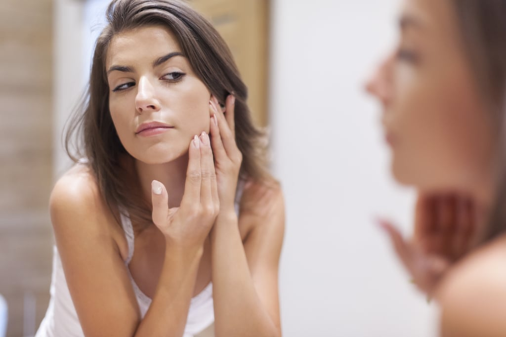 Acne Causes Using Face Mapping