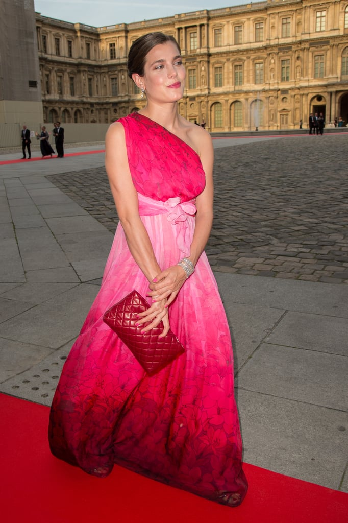 In June 2013, Charlotte concealed her pregnancy as she attended a charity gala at the Louvre in Paris.