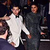 Priyanka Chopra and Nick Jonas at New York Fashion Week 2018
