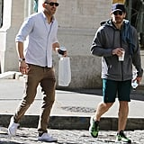 Thank God For These Photos of Ryan Reynolds and Jake Gyllenhaal's Coffee Date