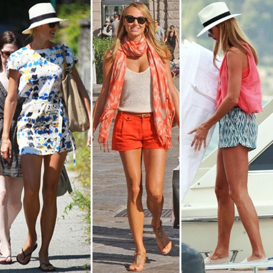 Stacy Keibler Summer Style Pictures 2012