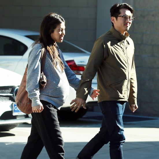 Steven Yeun and Joana Pak Out in LA January 2017