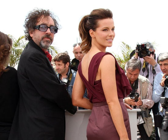 Slide Picture of Kate Beckinsale and Tim Burton at 2010 Cannes Film Festival