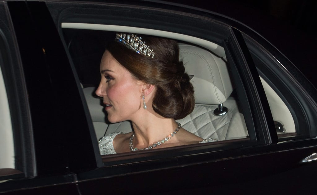 Kate Middleton Wearing Princess Diana's Tiara 2017