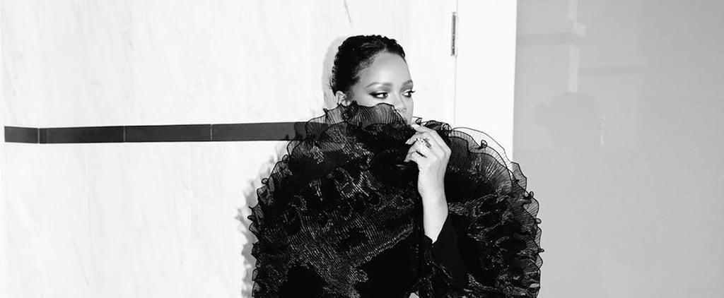 Rihanna's Black Dress at Beyoncé and JAY-Z's Oscars Party