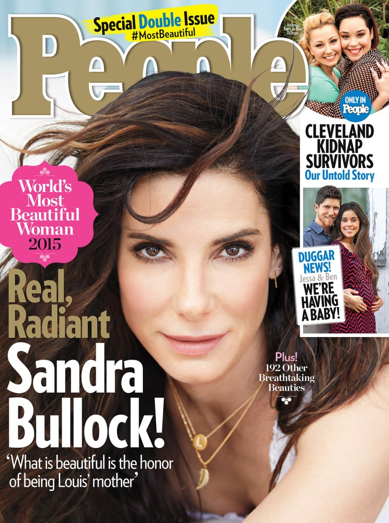 Sandra Bullock Is People's Most Beautiful, Inside and Out