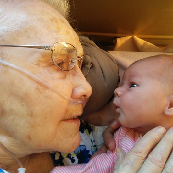 92-Year-Old Meets Great-Granddaughter For the First Time