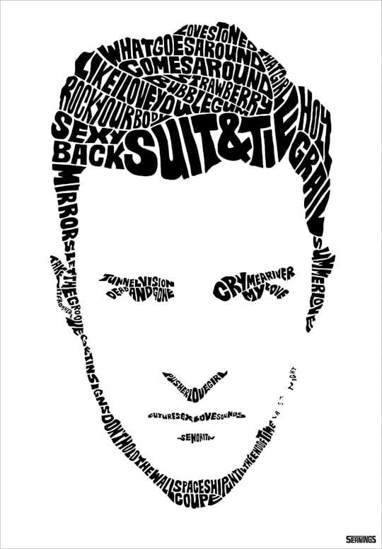 Type Print Gifts For Justin Timberlake Fans Popsugar