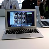 Pictures of the MacBook Air