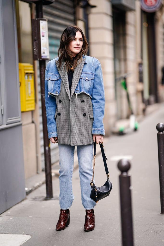 Denim Jacket Outfit Ideas For Spring And Summer Popsugar