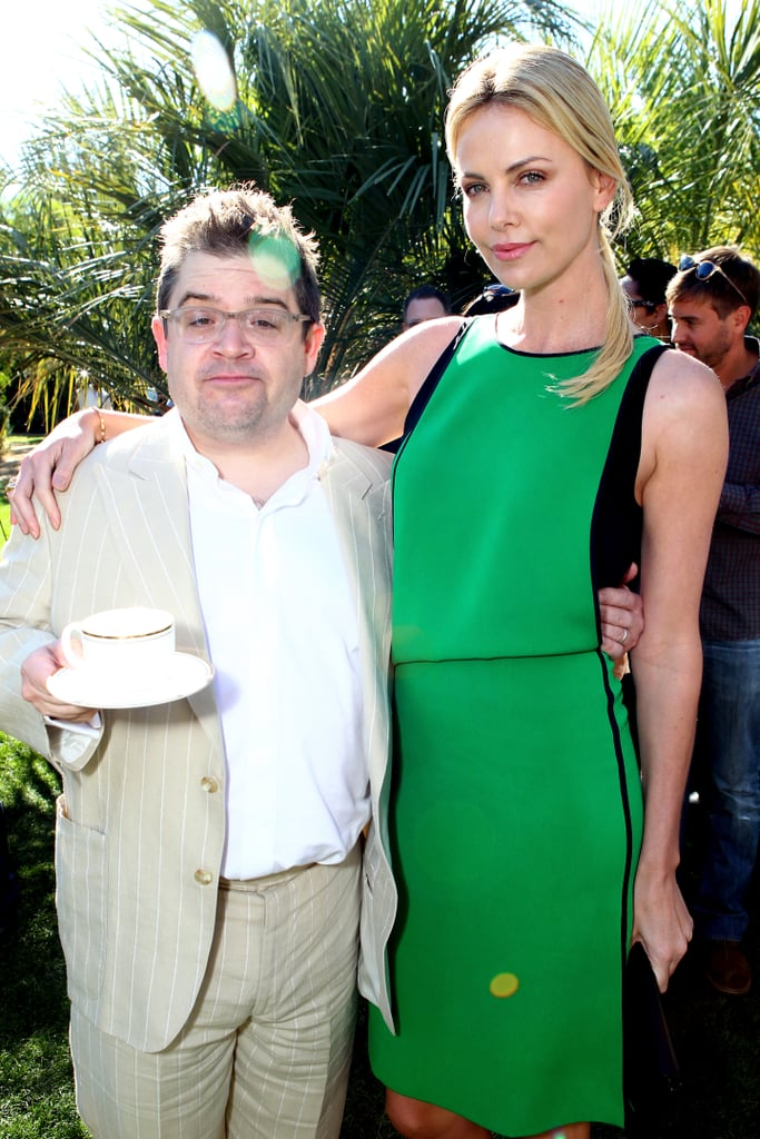 Patton Oswalt presented Charlize Theron with her honor.