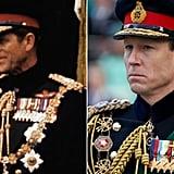 Prince Philip and Tobias Menzies