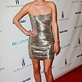 Nicky Hilton wore a Valentino mini dress to the after parties.