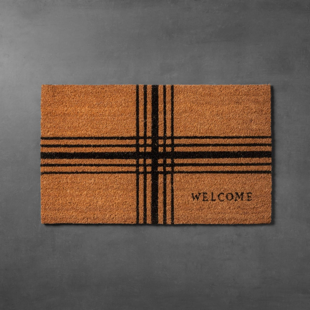 Hearth & Hand With Magnolia Plaid Coir Doormat