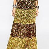 ASOS Reclaimed Vintage Mixed Floral Panel Maxi Festival Skirt ($73)