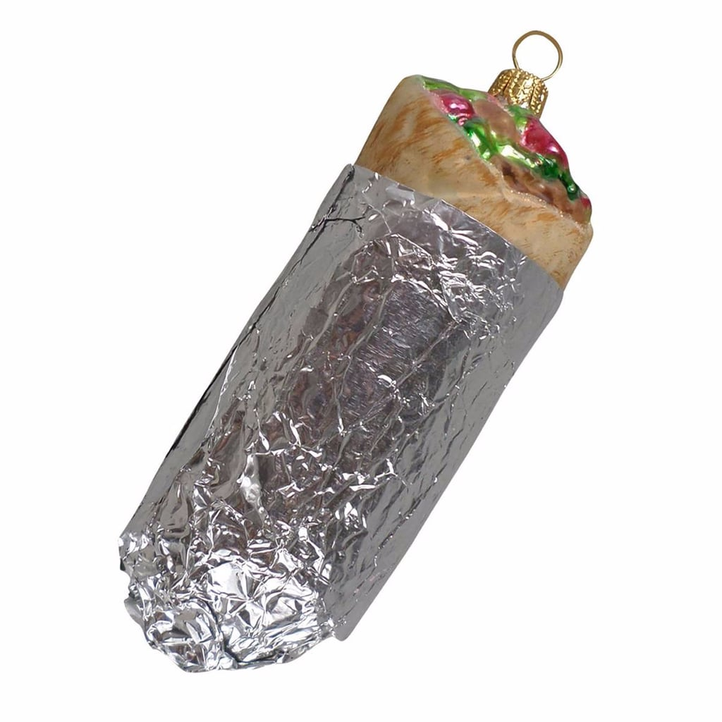 Burrito Christmas Ornament