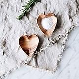 Connected Goods Mini Wood Heart Dish Set