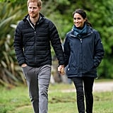 Prince Harry Talks About Meghan's Pregnancy in New Zealand