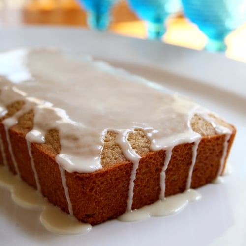 Vegan Iced Lemon Pound Cake