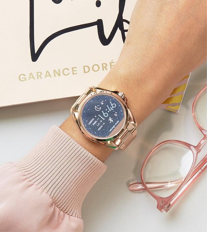 9a663a262c7f Michael Kors Access Rose Gold Bradshaw Smart Watch