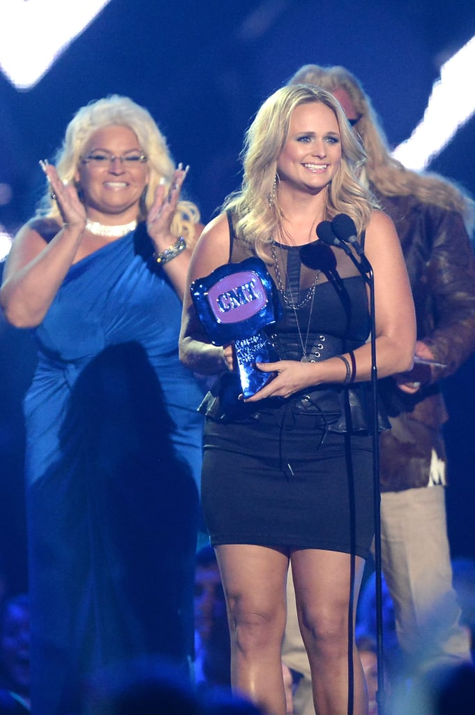 Miranda Lambert at the CMT Awards.