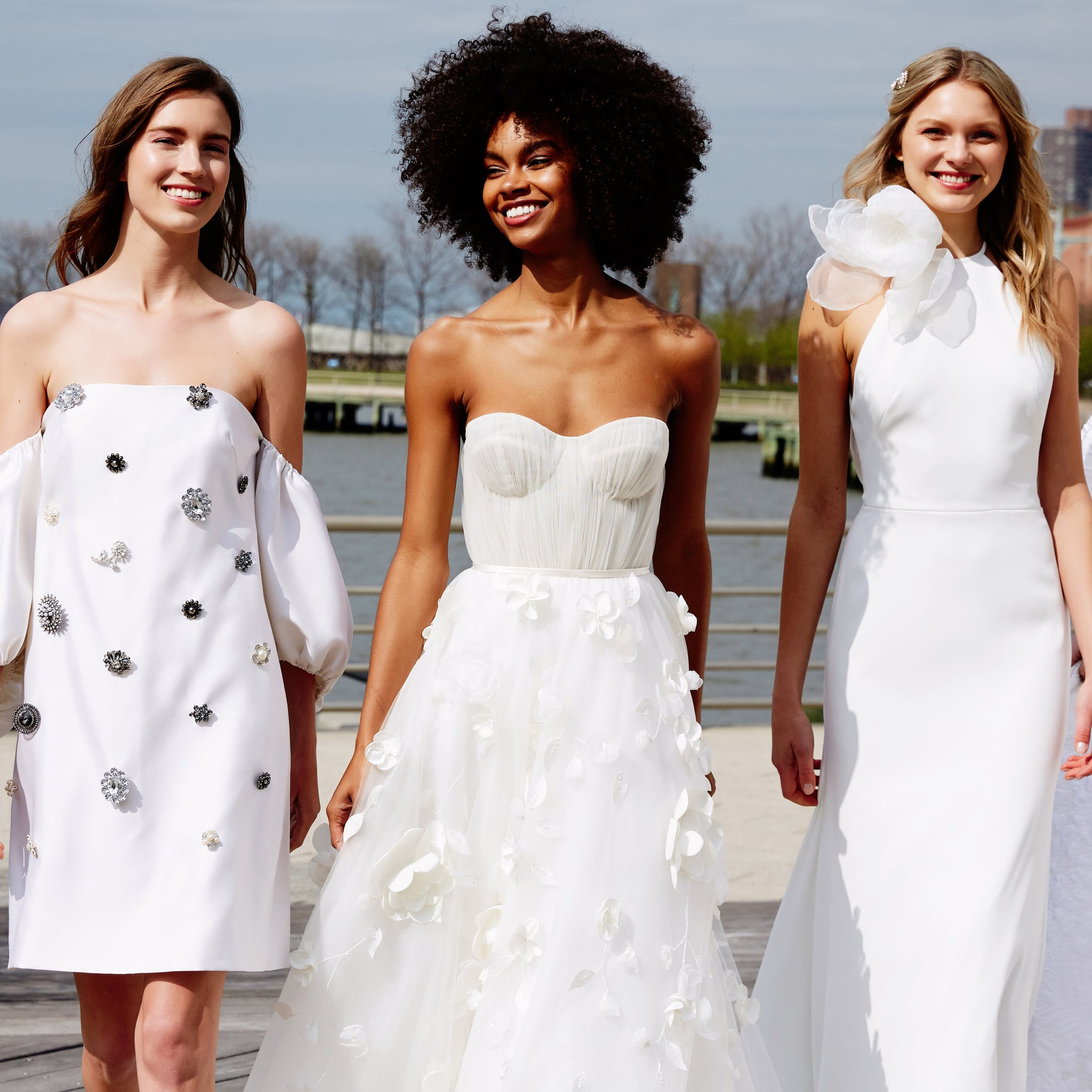 2020 Wedding Dress Trends.Bridal Trends Spring 2020 Popsugar Fashion