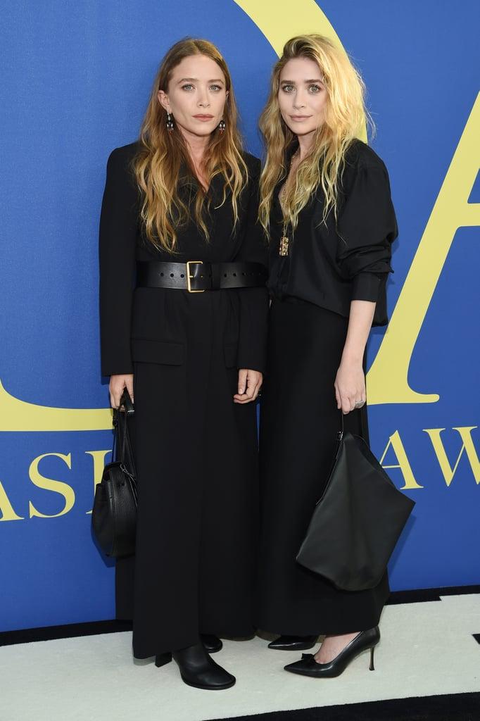 Mary-Kate and Ashley Olsen's Dresses at CFDA Awards 2018