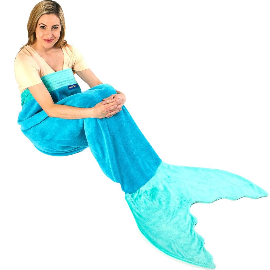 Mermaid Blanket by Blankie Tails ($40)