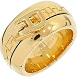 Boucheron Zipper 18K Yellow Gold Band Ring