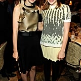 Rooney Mara said hello to Chloe Moretz at the AFI Awards.