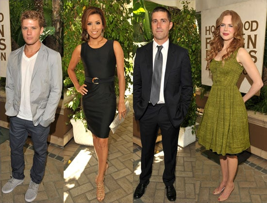 Ryan Phillippe, Nicole Kidman and Eva Longoria at the Hollywood Foreign Press Association's annual grant luncheon 2010-07-28 20:30:00