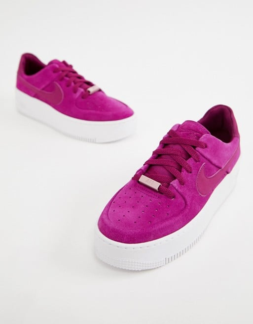 6e632bc823 Nike Air Force 1 Sage Low Sneakers | Cute Sneakers For Women 2019 ...