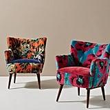 Velvet Tanya Petite Accent Chair