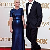 Will Arnett at the 2011 Emmys with wife Amy Poehler.