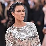Kim Kardashian's Hair and Makeup at the 2016 Met Gala