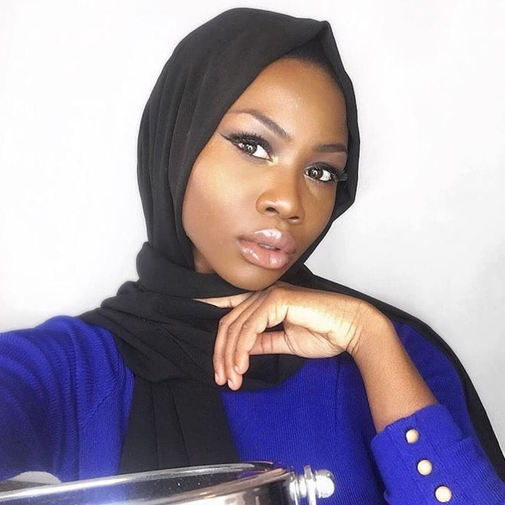 Dark Skin Hijabi Instagram Popsugar Middle East Love