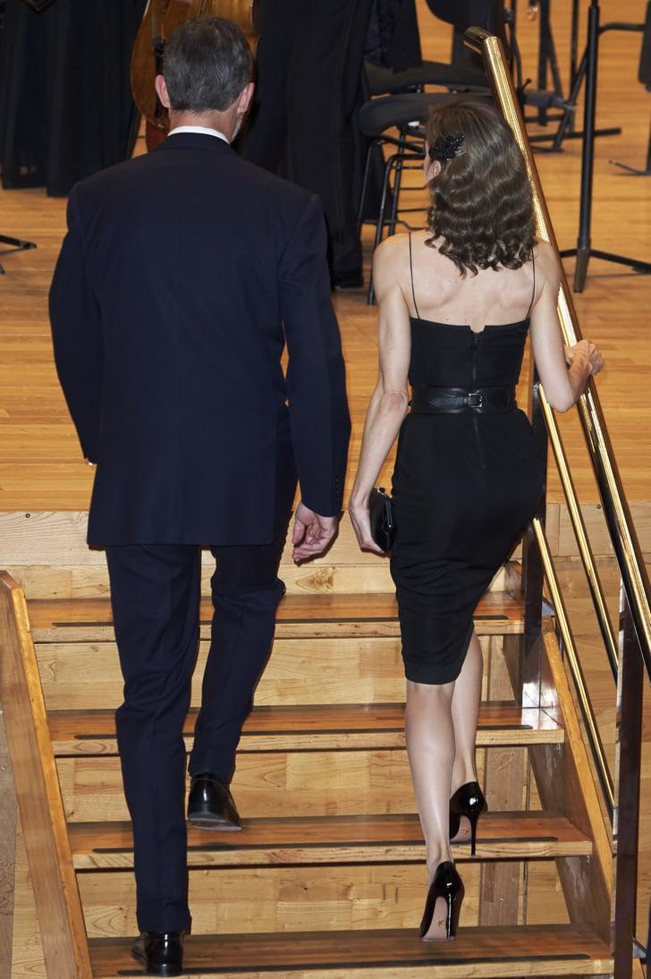 Queen Letizia At Princess Of Asturias Awards 2016