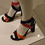 These multi-coloured shoes are on our hit list.