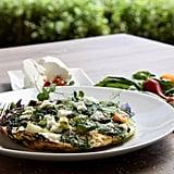 Egg-White Vegetable Frittata With Macadamia Nut Pesto
