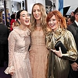 Maya Erskine, Anna Konkle and Natasha Lyonne at the 2019 Emmys