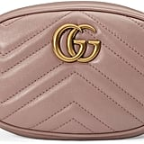 Get in on the trend with this luxe Gucci GG Marmont Matelassé Leather Belt Bag ($1,050).