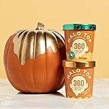 Halo Top Dairy and Vegan Pumpkin Pie Flavors