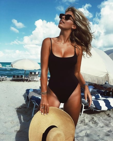 Shop Black One-Piece Swimsuits Online