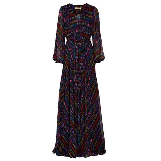 Mara Hoffman Printed Silk-Chiffon Maxi Dress, $1,335