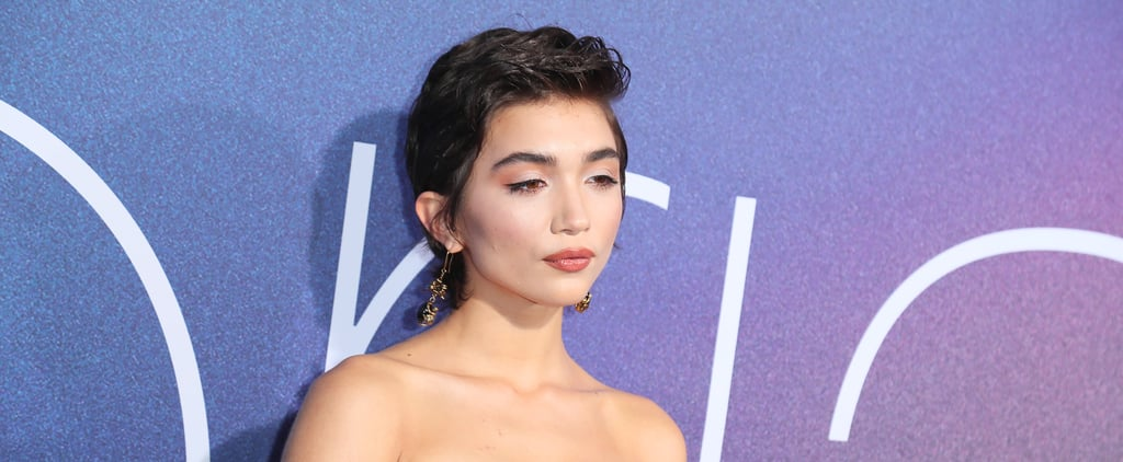 Rowan Blanchard's Curly Mullet Hairstyle